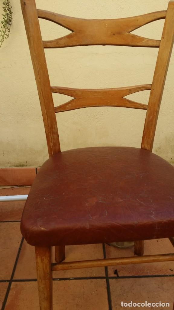 Antigüedades: mocholi original con sello, estillo chipendale - Foto 4 - 147343458