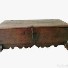 Antigüedades: ARCA-ARCÓN-BAÚL ANTIGUO RESTAURADA. Lote 118087883