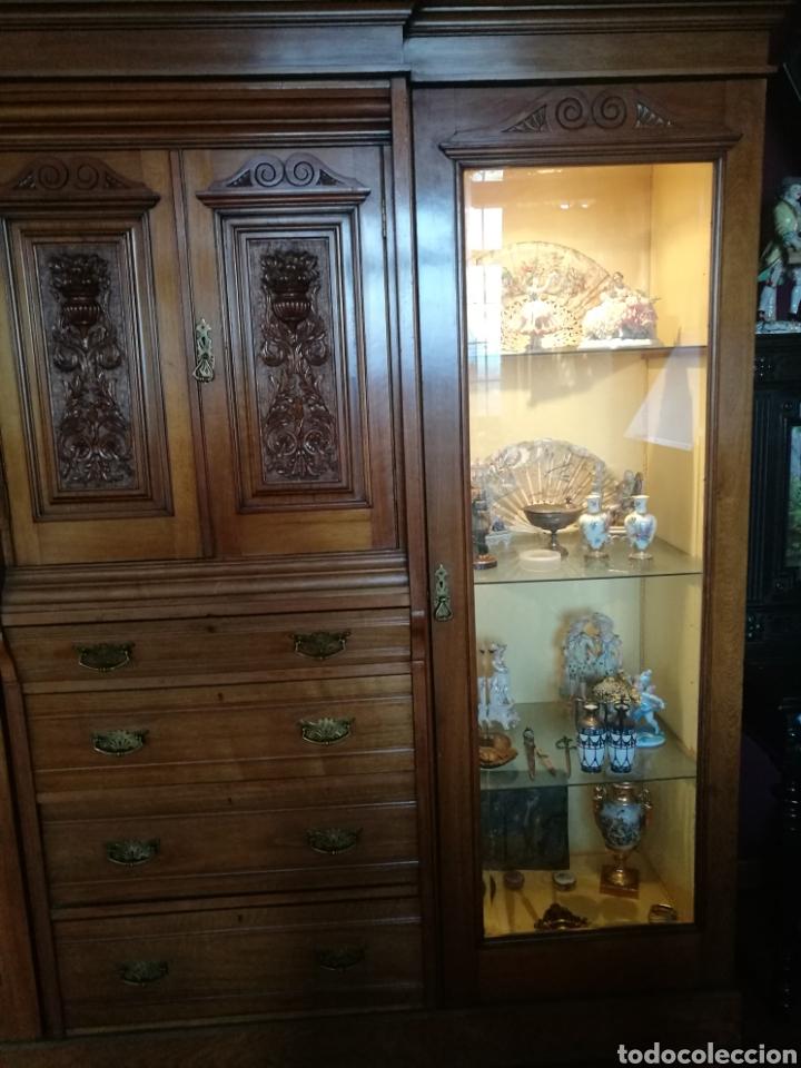 Antigüedades: Vitrina caoba - Foto 4 - 147392408
