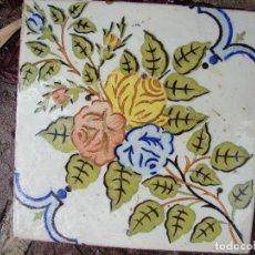 Antigüedades: ANTIGUA BALDOSA PARA DECORACIÓN. Lote 147394602
