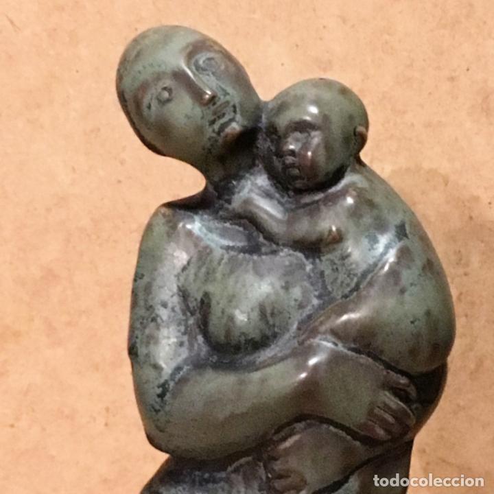 Antigüedades: Tres maternidades de porcelana de Algora - Foto 8 - 147409670