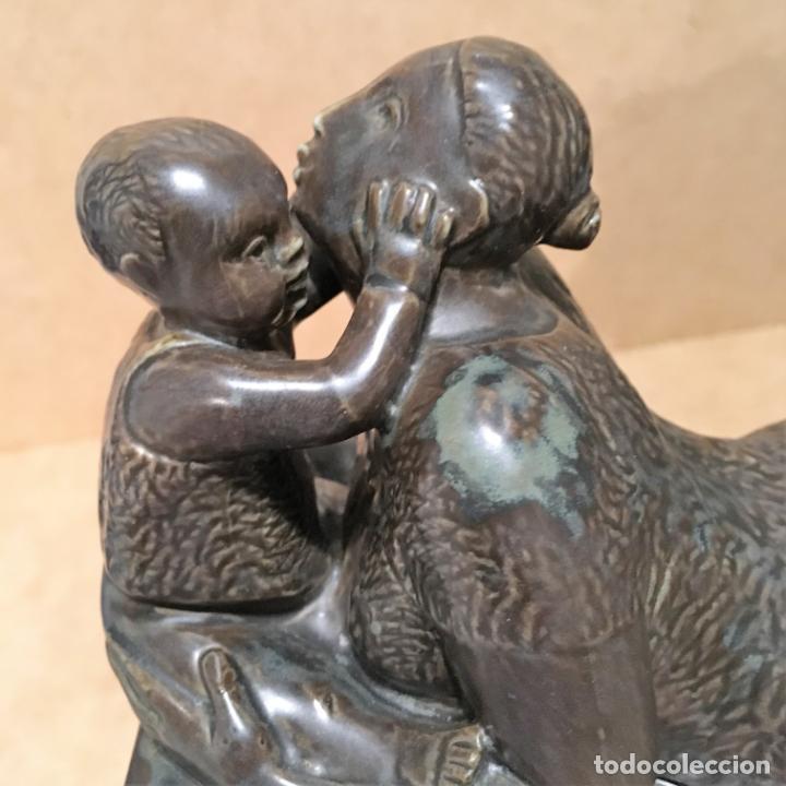 Antigüedades: Tres maternidades de porcelana de Algora - Foto 24 - 147409670