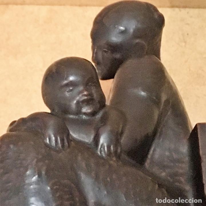 Antigüedades: Tres maternidades de porcelana de Algora - Foto 30 - 147409670