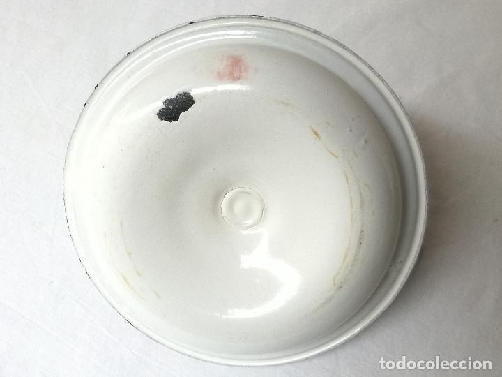 Antigüedades: Palmatoria de cerámica esmaltada - Foto 5 - 147424434