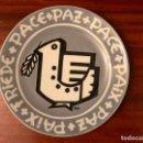 Antigüedades: ESPECTACULAR PLATO EDICIÓN LIMITADA NUMERADA O CASTRO DE ANTONIO PATIÑO POMBA DA PAZ SARGADELOS. Lote 147429702