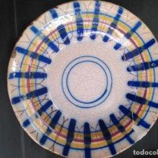 Antigüedades: MANISES ANTIGUO PLATO SIGLO XIX. Lote 147439258