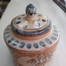 Antigüedades: TALAVERA ANTIGUO TINTERO SIGLO XIX. Lote 147463198