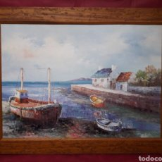 Antigüedades: GRAN MARCO DE MADERA.. Lote 147470614