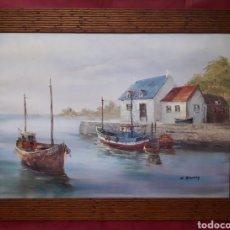 Antigüedades: GRAN MARCO DE MADERA.. Lote 147470881
