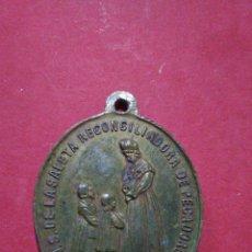 Antigüedades: ANTIGUA MEDALLA DE NTRA. SRA. DE LA SALETA. VALENCIA. 3,5 X 2,8 CM.. Lote 147489336