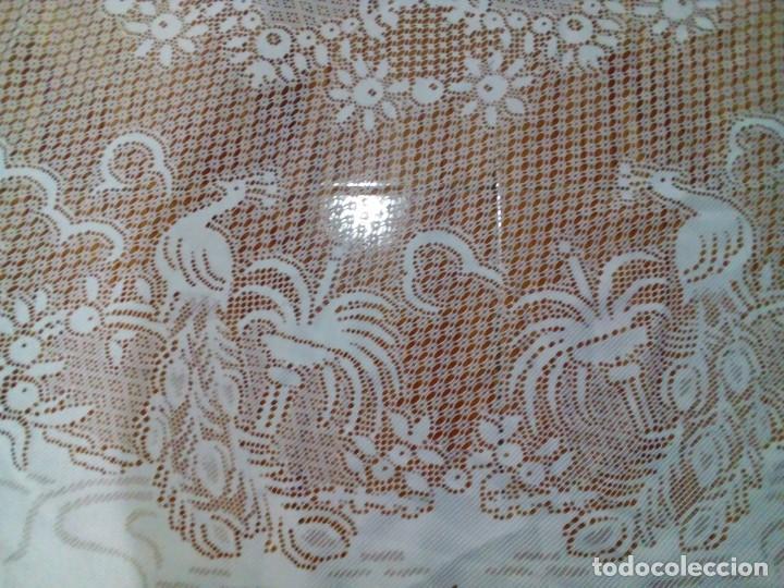 Antigüedades: MANTEL PARA MESA CAMILLA 140 CM DIAMETRO - Foto 2 - 147504350