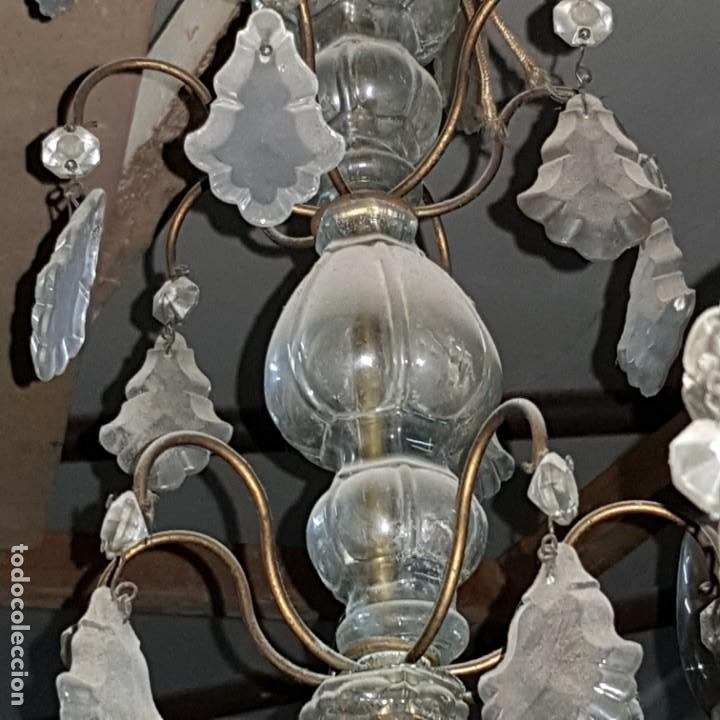 Antigüedades: Lampara cristal - Foto 5 - 147505690