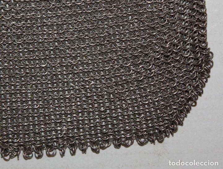 Antigüedades: BOLSO-MONEDERO DE PLATA-800-MODERNISTA-14,5 X 15 CM. - Foto 6 - 147511578