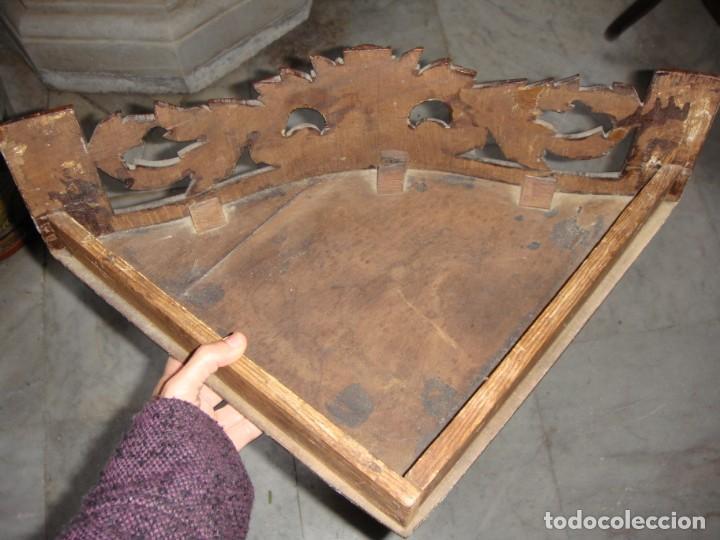 Antigüedades: Estantería o Repisa Esquinera. S.XIX. Caoba. - Foto 4 - 147521906