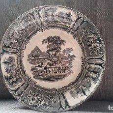 Antigüedades: PLATO DE SARGADELOS ANTIGUO. TERCERA ÉPOCA. Lote 147530930
