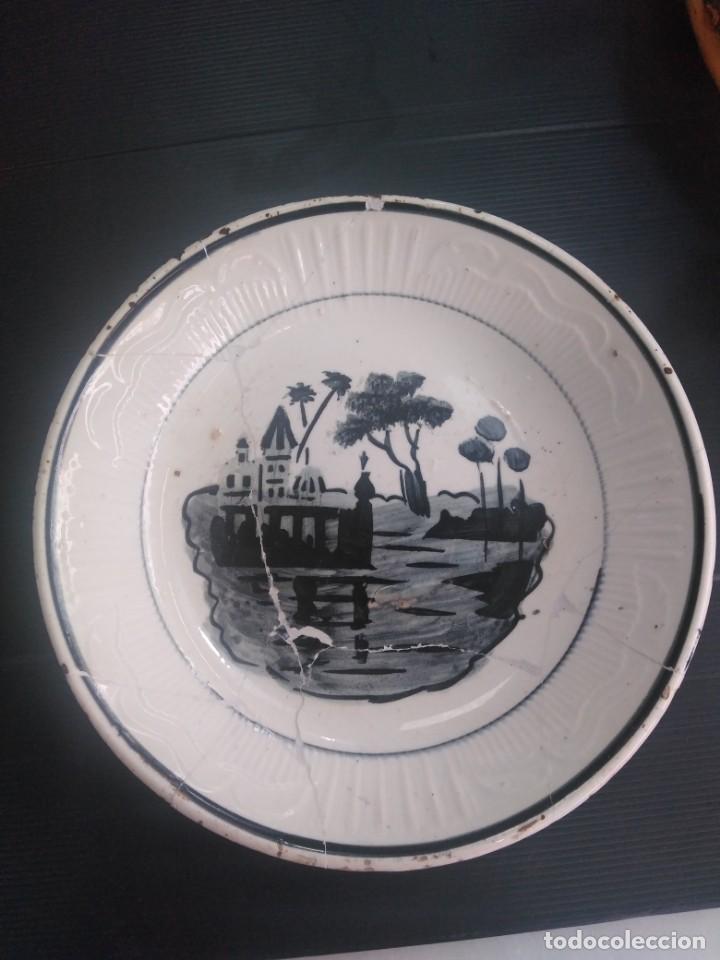 CARTAGENA, ANTIGUO PLATO (Antigüedades - Porcelanas y Cerámicas - Cartagena)