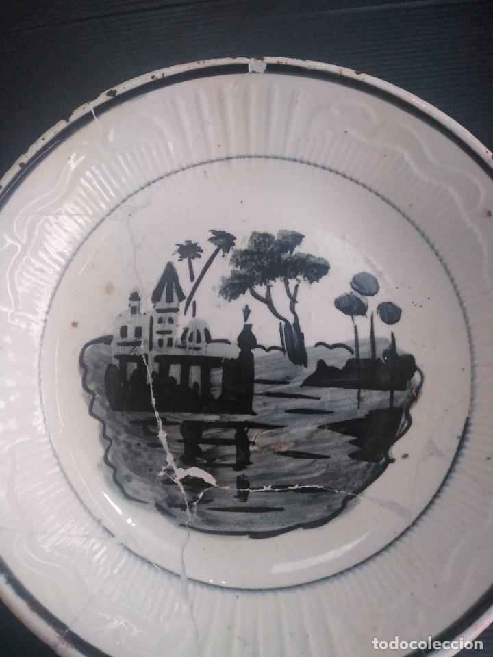 Antigüedades: Cartagena, antiguo plato - Foto 2 - 147545858