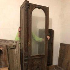 Antigüedades: ARMARIO- VITRINA TALLADO. Lote 147551862
