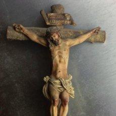 Antigüedades: CRISTO EN LA CRUZ OLOT. Lote 147568734