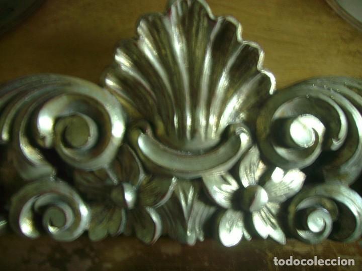 Antigüedades: MARCO MOLDURA CORNUCOPIA CUADRO GRANDE 154 X 82 CMS - Foto 3 - 147570902