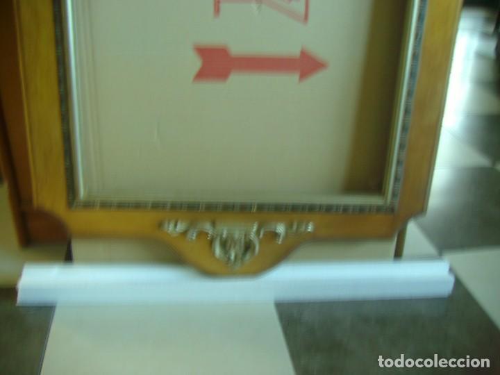 Antigüedades: MARCO MOLDURA CORNUCOPIA CUADRO GRANDE 154 X 82 CMS - Foto 5 - 147570902