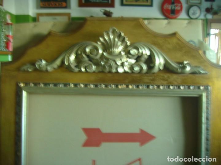Antigüedades: MARCO MOLDURA CORNUCOPIA CUADRO GRANDE 154 X 82 CMS - Foto 10 - 147570902