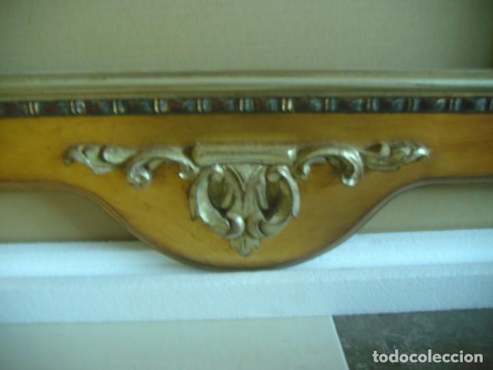 Antigüedades: MARCO MOLDURA CORNUCOPIA CUADRO GRANDE 154 X 82 CMS - Foto 12 - 147570902