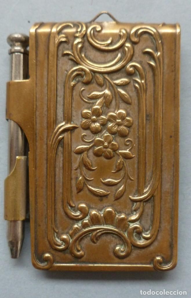 ANTIGUO COLGANTE CARNET DE BAILE - PRINCIPIO S. XX (Antigüedades - Moda - Otros)