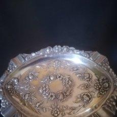 Antigüedades: CENICERO EN PLATA DE LEY. Lote 147594617