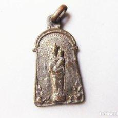 Antigüedades: MEDALLA DE LA VIRGEN DEL PILAR.. Lote 147595710