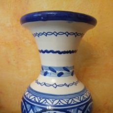 Antigüedades: JARRON FIRMADO. Lote 147599850