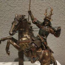 Antigüedades: FIGURA GUERRERO SAMURAI. Lote 144852430