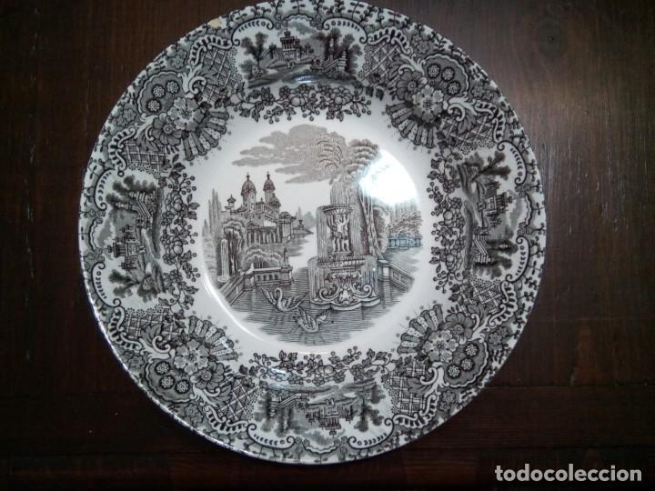 * PLATO PICKMAN. 22CM. (RF:. -8/B) (Antigüedades - Porcelanas y Cerámicas - La Cartuja Pickman)