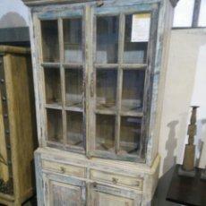 Antiquités: ALACENA DE DOS CUERPOS. Lote 147618473