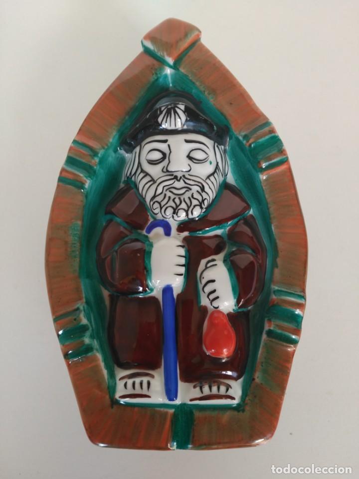 ROSO SEÑOR SANTIAGO, CERÁMICA DE CASTRO (Antigüedades - Porcelanas y Cerámicas - Sargadelos)