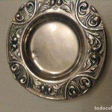 Antigüedades: BANDEJA DE PLATA . Lote 147644662