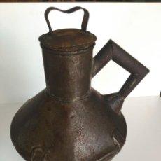 Antigüedades: ANTIGUA ZAFRA O CANTARA PARA ACEITE. Lote 147645518