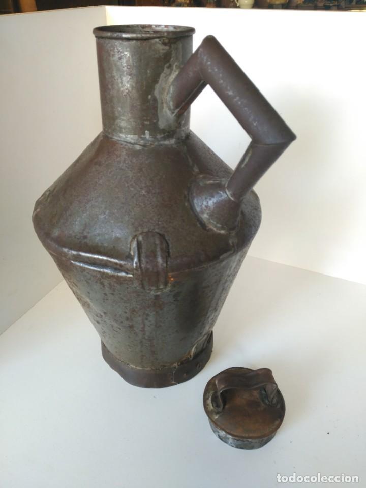 Antigüedades: Antigua zafra o cantara para aceite - Foto 3 - 147645518
