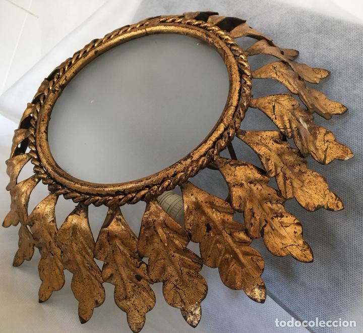 Antigüedades: Lámpara Sol antigua - Foto 3 - 147645761