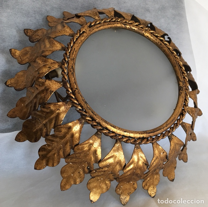 Antigüedades: Lámpara Sol antigua - Foto 4 - 147645761