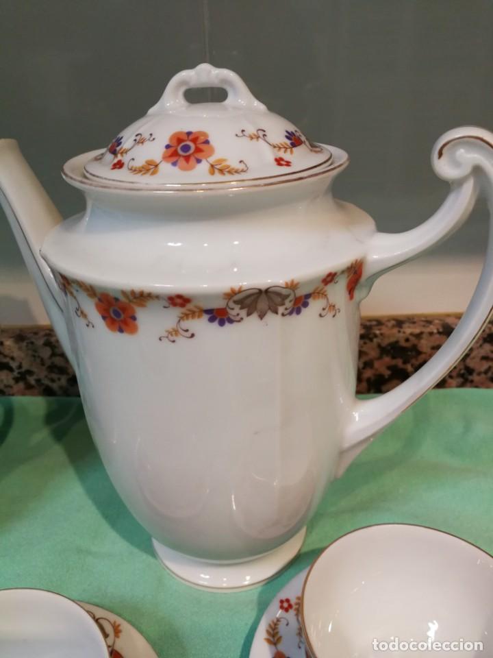 Antigüedades: Vajilla porcelana checoslovaca C.S.L.S.A - Foto 5 - 147647134