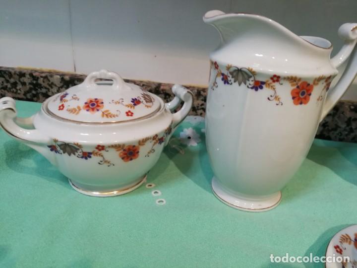 Antigüedades: Vajilla porcelana checoslovaca C.S.L.S.A - Foto 6 - 147647134