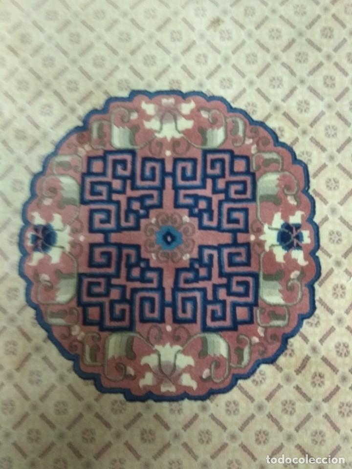 Antigüedades: ESPECTACULAR ALFOMBRA CHINA - HECHA A MANO - CA. 1920 - 250X150 CM - LUJO (+1500€) - Foto 6 - 152582844