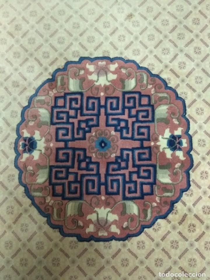 Antigüedades: ESPECTACULAR ALFOMBRA CHINA - HECHA A MANO - CA. 1920 - 250X150 CM - LUJO (+1500€) - Foto 7 - 152582844