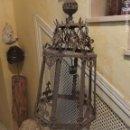 Antigüedades: LAMPARA ANTIGUA -METAL . Lote 157097286