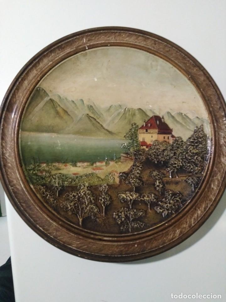 ANTIGUO PLATO ALEMÁN DE TERRACOTA (Antigüedades - Porcelana y Cerámica - Alemana - Meissen)