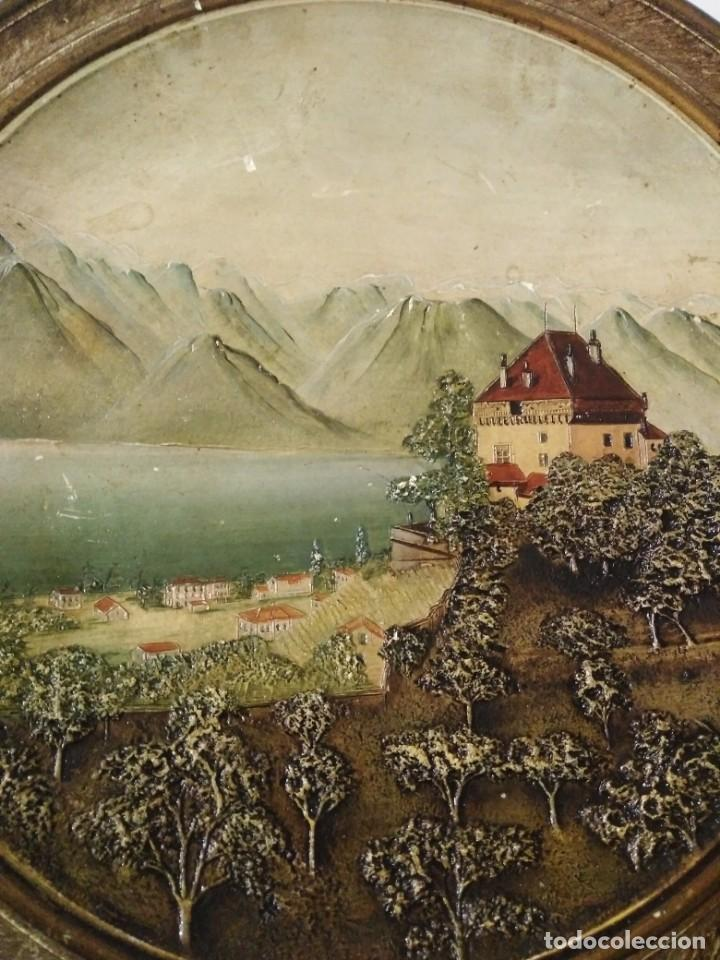 Antigüedades: Antiguo plato Alemán de terracota - Foto 2 - 147661594