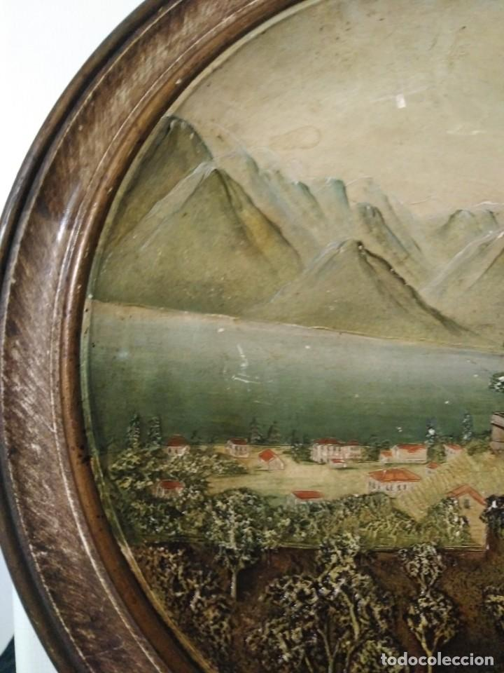 Antigüedades: Antiguo plato Alemán de terracota - Foto 3 - 147661594