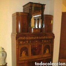 Antigüedades: ---- EXCLUSIVO MUEBLE ESTILO BIEDERMEIER, CON PRECIOSA MARQUETERIA. 1.980. Lote 147663409