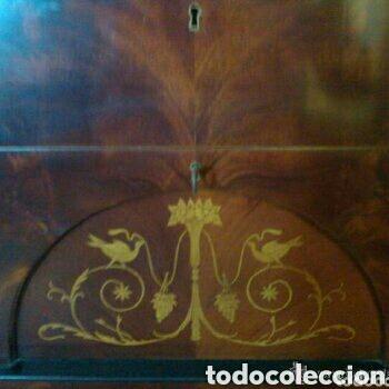 Antigüedades: ---- EXCLUSIVO MUEBLE ESTILO BIEDERMEIER, CON PRECIOSA MARQUETERIA. 1.980 - Foto 2 - 147663409